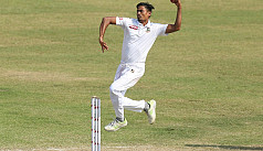 BCB XI trail by 70 runs after Taijul...