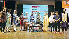 Proshanta Mridha wins Gemcon Sahitya...