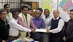 Ershad collects nomination paper for...