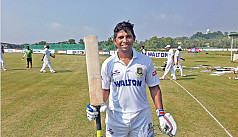Rony Talukdar scores fifty But North...