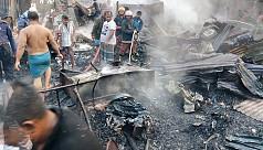 2 die in Shariatpur fire