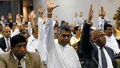 Sri Lanka's speaker: Until Rajapaksa...