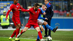 Portugal hold off Italy to reach Nations...