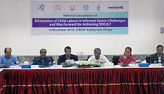 Speakers: Child labour will create skilled...