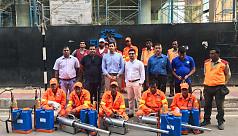 Gulshan Society's Civic Utilities Team...