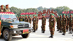 Chief of Army provides national flag...
