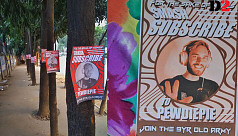 Bangladeshis root for PewDiePie against...