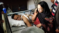 Mahbub Uddin Khokon shot during...