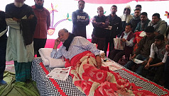 Latif Siddiqui announces hunger strike...