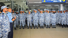 202 BAF peacekeepers leave Dhaka for...
