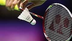 Local junior shuttlers dominate opening...