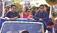 Celebrities throng port city campaigning for 'Boat'