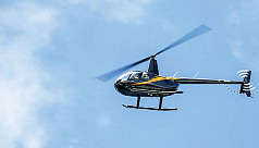 Choppers to be used for 14 polling centers...