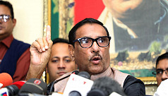 Quader: No release of Khaleda on parole without logical ground