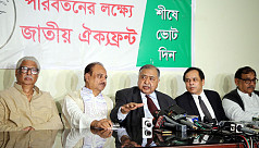 Jatiya Oikya Front to release election...