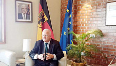 German envoy for peaceful solution to...