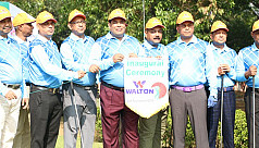 Opening ceremony of Victory Day Golf...