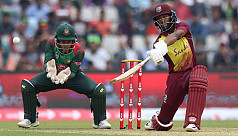 Bangladesh no match for WI in first...