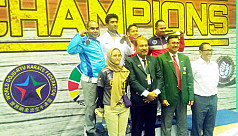 Bangladesh win silver at Asian Goju...