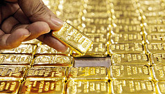 15 gold bars seized at Dhaka airport
