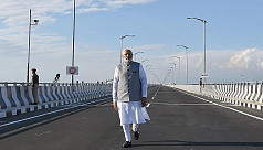 India's longest road-rail bridge bolsters...