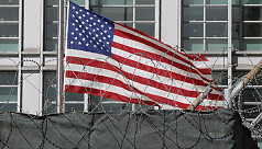 Russia detains American in Moscow over...