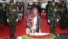 PM Hasina pays homage to Bangabandhu