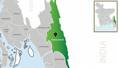 One gunned down in Rangamati