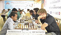 Saif keeps winning in chess