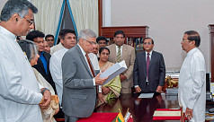 Wickremesinghe returns as Sri Lanka...