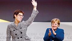 Merkel protege Kramp-Karrenbauer succeeds...