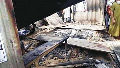 Polls violence: Arson across the...