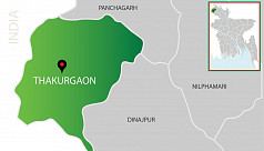 Three-wheeler drivers burn mayor's effigy in Thakuragaon