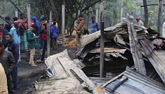 Thakurgaon fire incident claimed to...