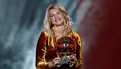 Hegerberg wins Ballon d'Or