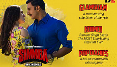 Ranveer Singh's 'Simmba' opens with $3 million