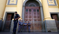 Gunman in Brazil cathedral kills 4 before...