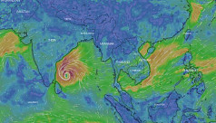 Cyclonic storm 'Phethai' forms over Bay