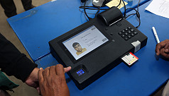 Dhaka 13 voters complain of EVM technical...