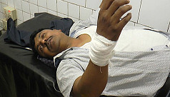 BNP candidate Moyeen attacked during...