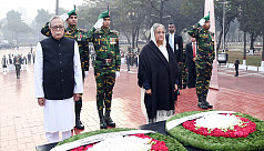 President, PM pay tribute to martyred...