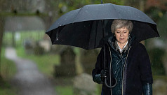 UK PM faces fight for her political...
