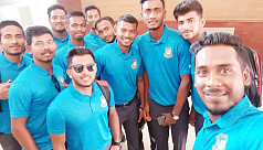 Bangladesh U-23 team safely reach Pakistan