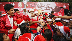 In pictures: Christmas celebrations in Dhaka