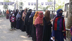 Peaceful voting across nation