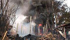Fire at Chittagong oil depot under...