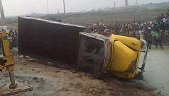 4 killed as truck falls into Turag river...