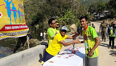 Nation's highest trail marathon held...