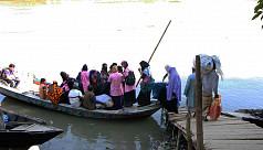 Distressed locals demand bridge in...