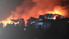 33 shops gutted in Bhola